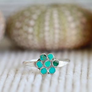 Jewelry - Vintage Sterling Silver Turquoise Ring